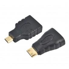 Переходник HDMI to Micro HDMI + HDMI to Mini