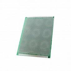 Двухсторонняя макетная плата PCB 70 x 90 мм