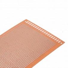 Односторонняя макетная плата PCB 90 x 150 мм