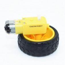 Мотор-редуктор с колесом DC
