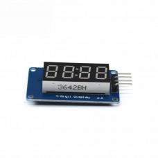 4-розрядный индикатор TM1637